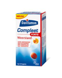 Davitamon Compleet Weerstand Forte Dragees