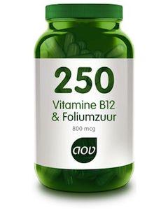 AOV-250-Vitamine-B12-&-Foliumzuur-capsule