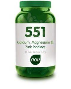 551 Calcium & Magnesium & Zink Pidolaat
