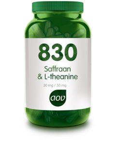 AOV 830 Saffraan & L-theanine