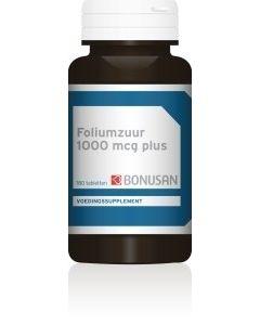 Bonusan Foliumzuur 1000 mcg plus