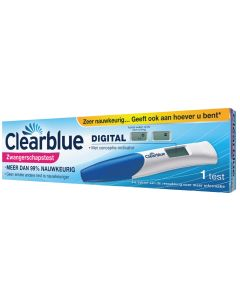Clearblue Digital Zwangerschapstest met conceptie-indicator
