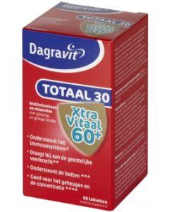 Dagravit Totaal 30 Xtra Vitaal 60+