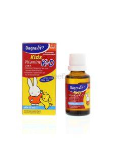 Dagravit Vitamine K & D druppels