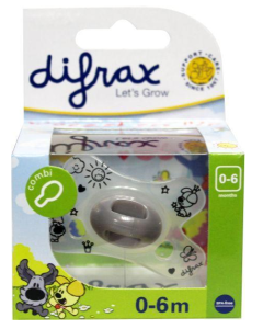 Difrax Speen 0-6 Woezel en Pip