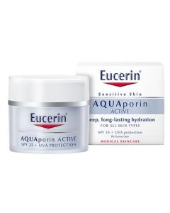 Eucerin AQUAporin Active Hydraterende Creme SPF 25+ UV 50ml