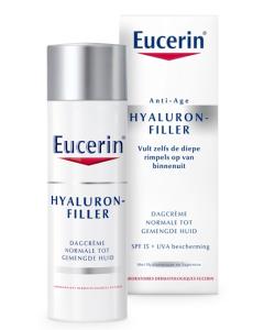 Eucerin Hyaluron-Filler Dagcrème Normale-Gemengde Huid