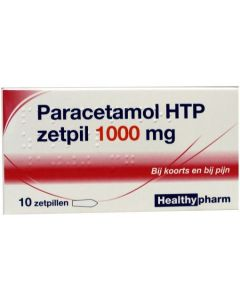 Healthypharm Paracetamol Zetpil 1000mg