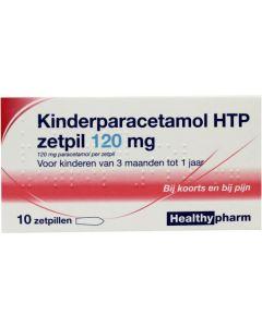 Healthypharm Paracetamol Zetpil 120mg