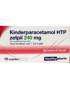Healthypharm Paracetamol Zetpil 240mg