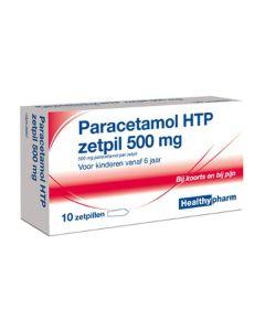 Healthypharm Paracetamol Zetpil 500mg