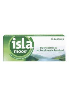 Isla Moos keelpastille
