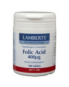 Lamberts Foliumzuur 400mcg