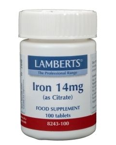 Ijzer (iron) citr 14mg/l8243>