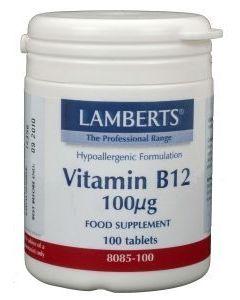 Vitamine B12 Lamberts tablet 100 mcg