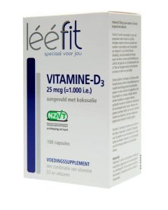 Leefit Vitamine D3-25 mcg