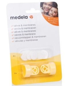 Medela Vacuümset Klep + Membraan