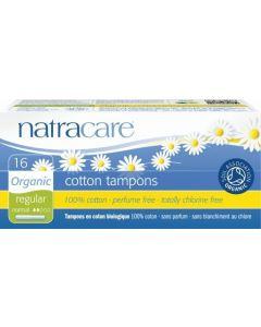 Natracare Tampons Regular Met Inbrenghuls