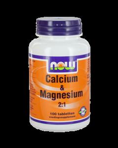 NOW Calcium en Magnesium 2:1