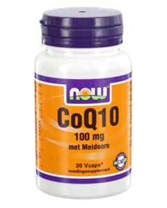 NOW CoQ10 100 mg Met Meidoorn