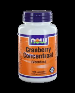 NOW Cranberry Concentraat (Veenbes)