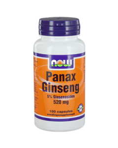 NOW Panax Ginseng 520 mg