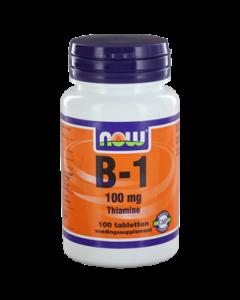 NOW Vitamine B-1 100 mg