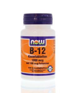 NOW Vitamine B12 1000mcg
