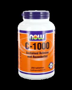 NOW Vitamine C-1000 Sustained Release Met Rozenbottel