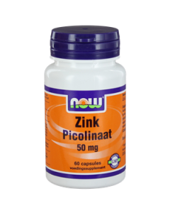 NOW Zink Picolinaat 50 mg