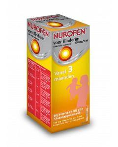 Nurofen voor Kinderen suikervrije suspensie 20mg/ml