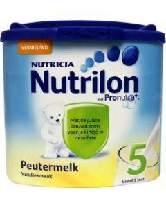 Nutrilon Peutermelk 5 Vanille.