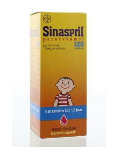 Sinaspril Paracetamol Stroop 120mg/5ml