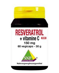 Resveratrol + vit c 150mg puur