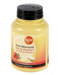 Roter Vitamine C Forte Weerststand