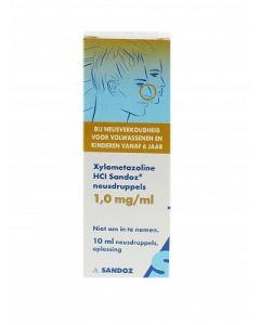 Sandoz Xylometazoline Neusdruppels 1mg/ml