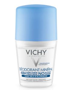 Vichy Deodorant Mineraal roller 48u