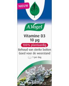 A. Vogel Vitamine D3 10ug 100 tabletten