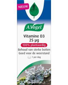 A. Vogel Vitamine D3 25ug 100 tabletten
